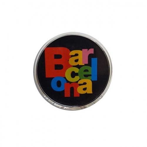 PINZA IMÁN BARCELONA LETRAS Negro | REF: 58-346 | 3.50€