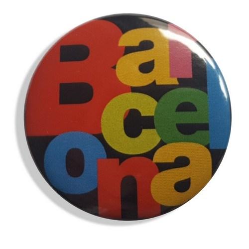 CHAPA AGUJA BARCELONA LETRAS Negro | REF: 58-20N | 1.20€