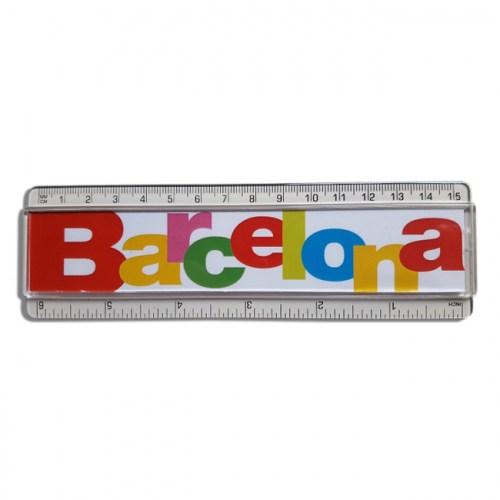 REGLA BARCELONA LETRAS Blanco | REF: 970-13 | 3.50€