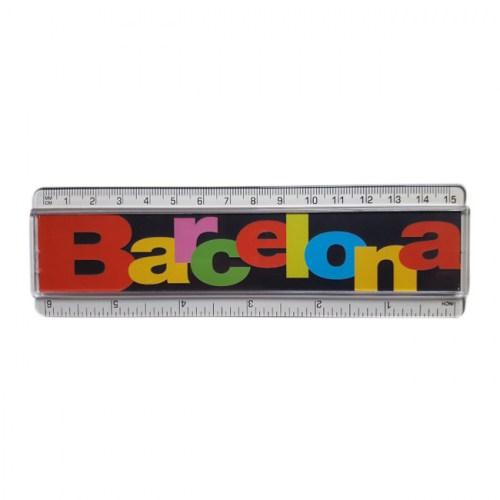 REGLA BARCELONA LETRAS Negro | REF: 970-14  | 3.50€