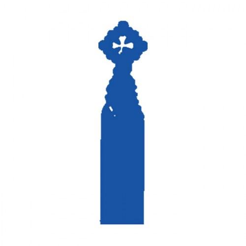 PUNTO DE LIBRO SAGRADA FAMILIA  Azul | REF: 2023/BL | 1.60€