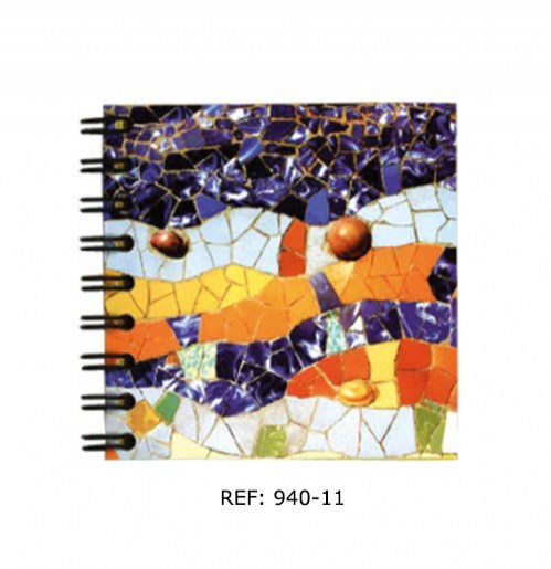 LIBRETA WYRO 8X8 MOSAICO   DRAGÓN | REF: 940-11 | 3€
