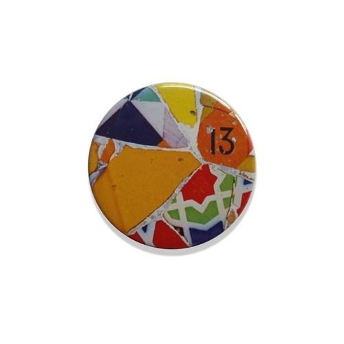 CHAPA IMÁN MOSAICO 13 | REF: 58-67  | 1.50€