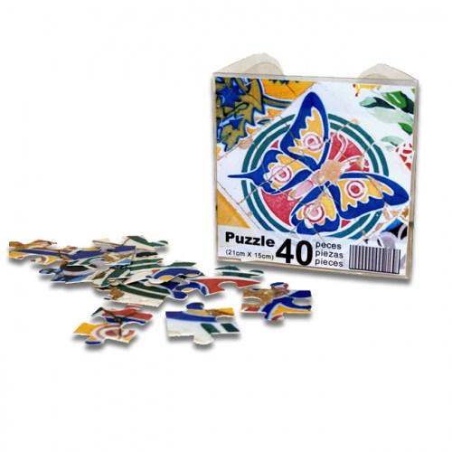 PUZZLE MOSAICO MARIPOSA | REF: 940-60 | 5€