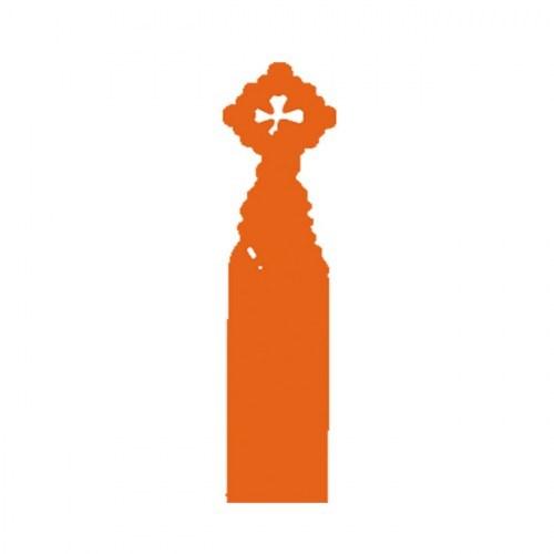 PUNTO DE LIBRO SAGRADA FAMILIA naranja | REF: 2023/T | 1.60€