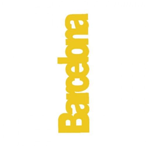 PUNTO DE LIBRO BARCELONA  amarillo | REF: 2021/G | 1.60€