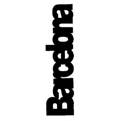 PUNTO DE LIBRO BARCELONA  Negro | REF: 2021/N | 1.60€