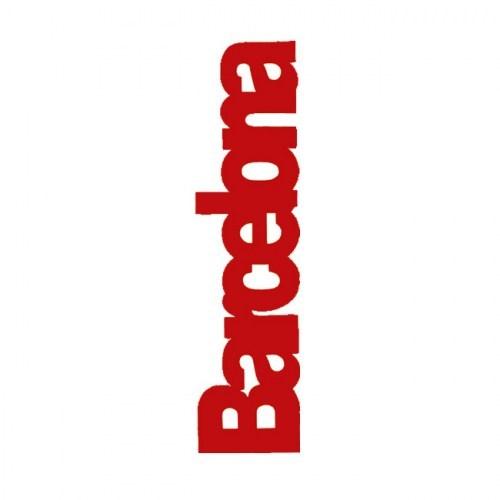 PUNTO DE LIBRO BARCELONA  Rojo | REF: 2021/V | 1.60€