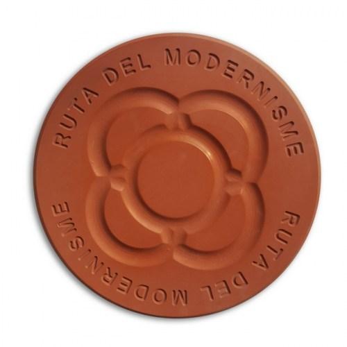 BALDOSA MODERNISTA ROJA | REF: 1531027 | 34.50€