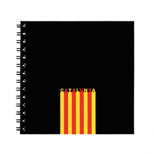 NOTEBOOK 12X12 CATALONIA FLAG