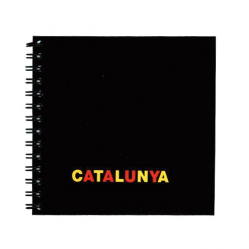 NOTEBOOK 12X12 CATALONIA