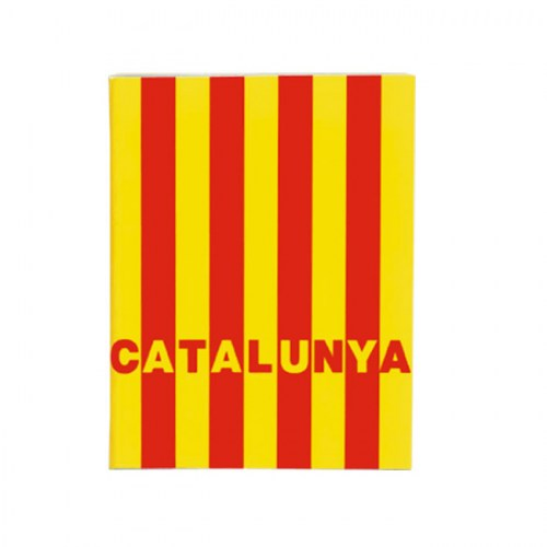 NOTEBOOK STAPLED A6 CATALONIA FLAG