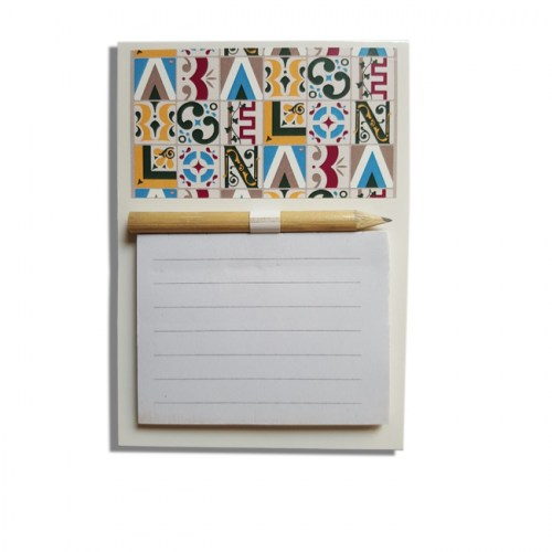 MAGNET NOTEPAD FRIDGE HYDRAULIC