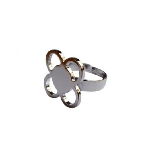 Anillo acero inoxidable Flor Panot